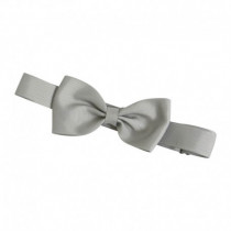 Bow`s by Stær butterfly/grosgrain - Silver